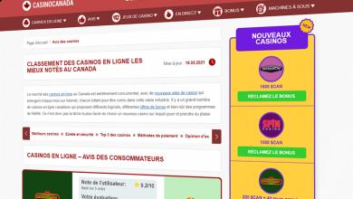 Photo of CasinoCanada.com devient disponible pour les joueurs francophones