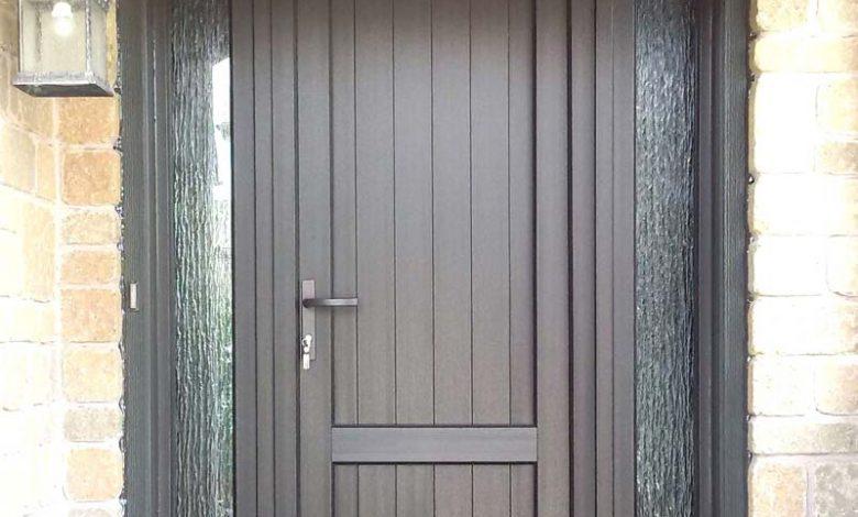 portes d'entrée en PVC